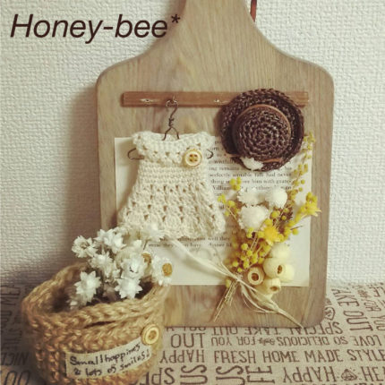 Knit & Natural 雑貨 Honey-bee*
